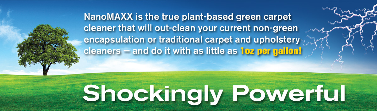 Powerful Green Carpet Cleaner